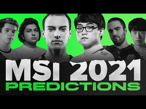 (New) Big upset involving c9 dwg?!? | msi 2021 predictions