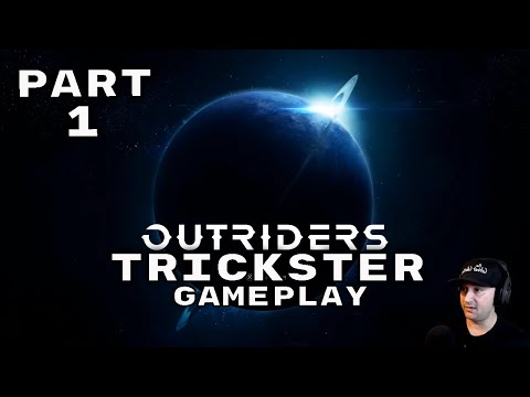 (New) Outriders pc walkthrough gameplay part 1 - intro (live stream)