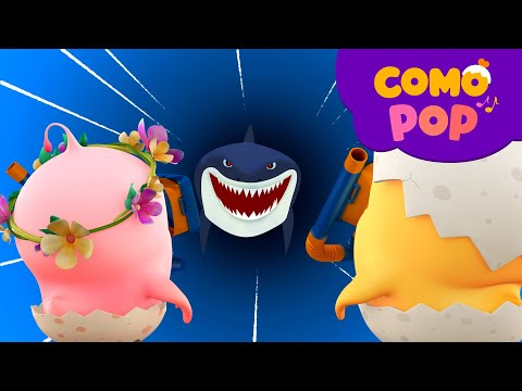 (New) Como pop | kids songs | aquarium | +more kids songs | cartoon video for kids | como kids tv