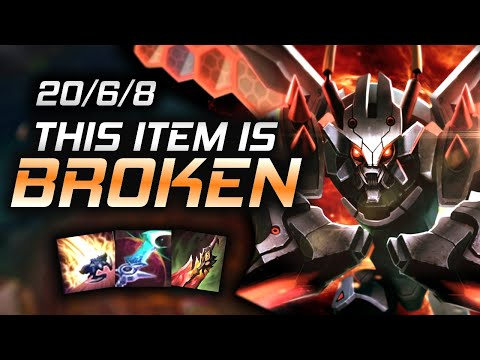 (New) This new season 11 item turns khazix into a monster.