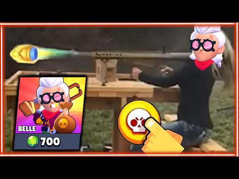 (New) *belle* brawl stars in real life! #12
