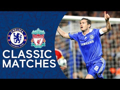 (New) Chelsea 4-4 liverpool | frank lampard double puts chelsea through | champions league highlights