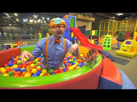 (Ver Filmes) Blippi learns at the indoor playground   educational videos for toddlers