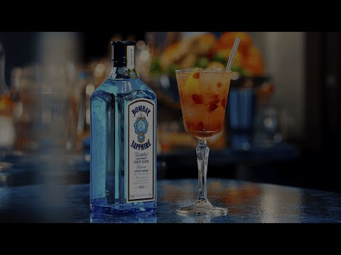 (HD) The grape gatsby - bombay sapphire cocktail