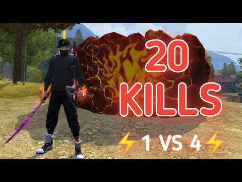 (New) Solo vs squad || 20 kills in a single house of brasilia || the match youve never seen before 🔥 !!!!