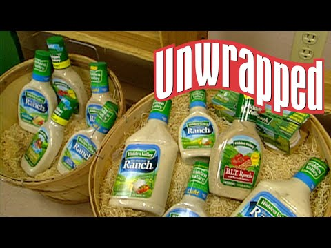 (New) How hidden valley ranch is made (from unwrapped) | unwrapped | food network