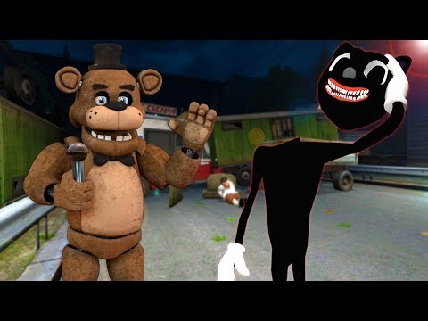 (New) I became cartoon cat e ate my friends in gmod! - garrys mod multiplayer survival