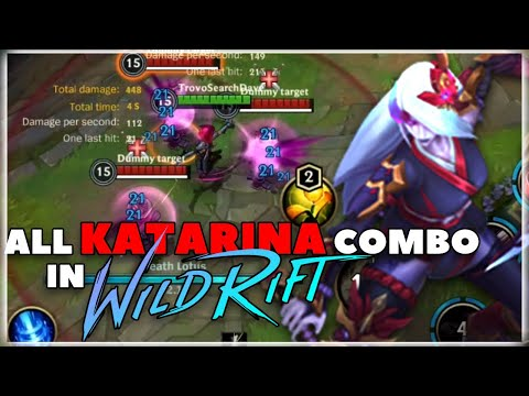(New) Katarina full combo, tips and tricks in 3 minutes | wild rift