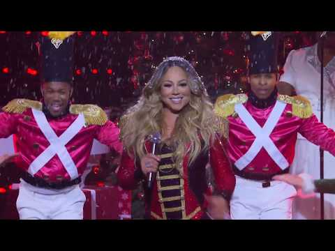 (VFHD Online) Mariah carey - all i want for christmas is you (live at the late late show 2019)