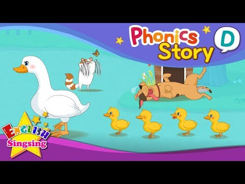 (VFHD Online) Phonics story d - english story - educational video for kids