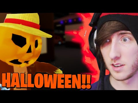 (New) Kreekcraft plays piggy halloween update!! (roblox)