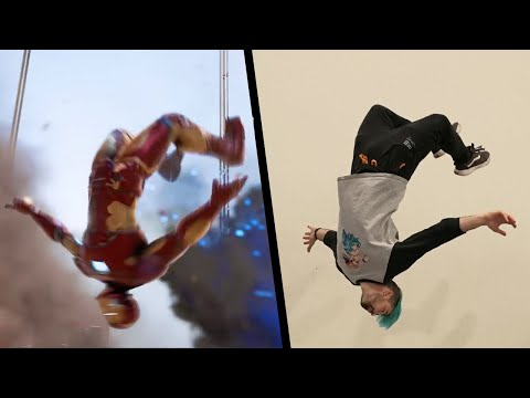 (Ver Filmes) Stunts from marvels avengers in real life
