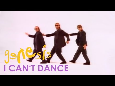 (New) Genesis - i cant dance (official music video)