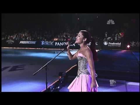 (New) Ariana grande - only girl in the world (2011 skating gymnastics spectacular)
