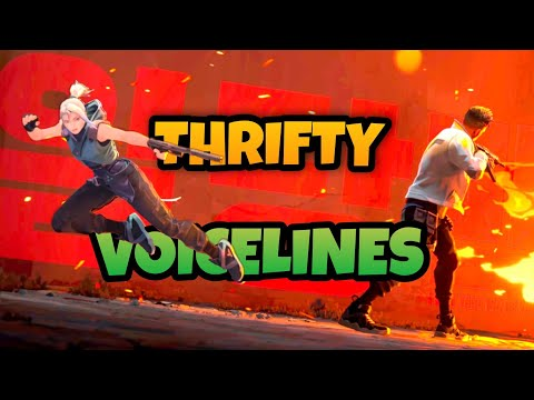 (New) Valorant - all agent thrifty voice lines