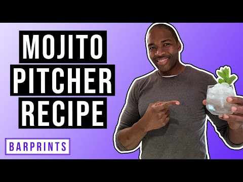 (New) How to make a pitcher of mojitos your guests will love!