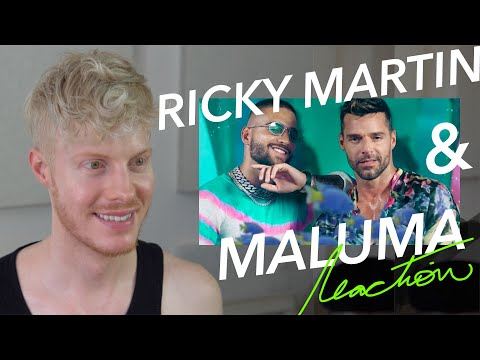 (Ver Filmes) Maluma ricky martin no se me quita reaction