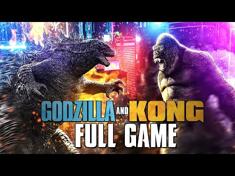 (New) Godzilla e king kong gameplay walkthrough full games (4k 60fps) 2-in-1 collection