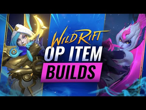 (New) Op item builds for every role - wild rift (lol mobile)
