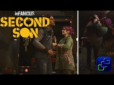 (New) Infamous: second son ps4 walkthrough - delsin and fetch romance both outcomes