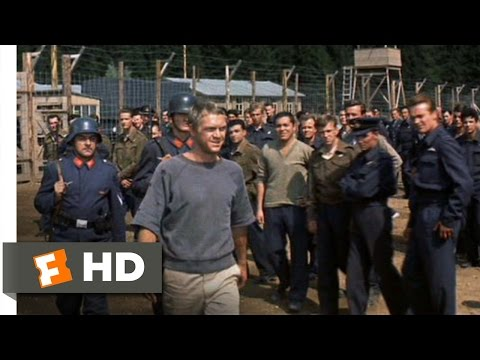 (New) The great escape (11 11) movie clip - the cooler king returns (1963) hd