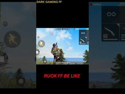 (New) Ruok be like || ruok ff be like funny || free fire funny moment || free fire || comedy