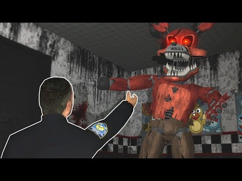 (New) Escape from new five nights at freddys! - garrys mod multiplayer gameplay - fnaf gmod game mode