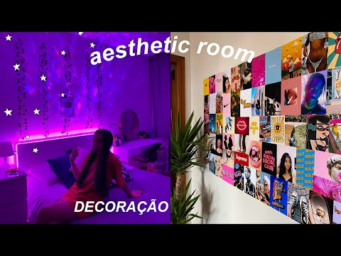 (New) Decorando meu quarto estilo aesthetic vsco pinterest | lah rios