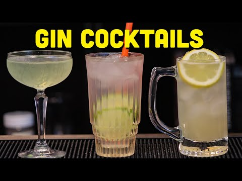 (New) 3 easy gin cocktails to make at home