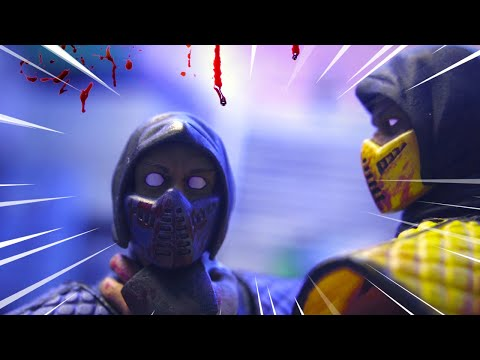 (New) Mortal kombat stop motion - scorpion returns