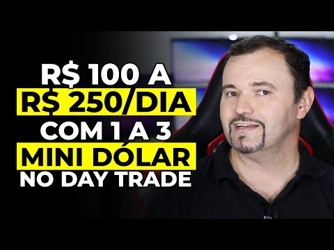 (New) R$ 100 a r$ 250 por dia com 1 a 3 contratos mini dólar no day trade