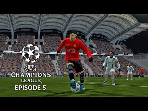 (New) Pes 6 - uefa champions league 08 09 episode 5: last 16 2nd leg!