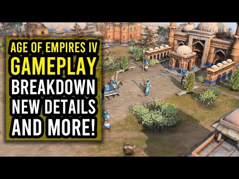 (New) Age of empires iv - gameplay breakdown | new units, buildings and more! [2021]