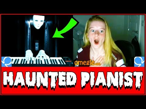 (Ver Filmes) Spooky ghost plays piano on omegle prank!! (reactions)