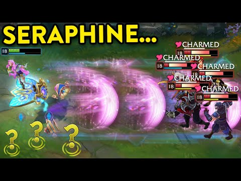 (VFHD Online) The power of seraphine - best tricks e 200 iq plays - league of legends