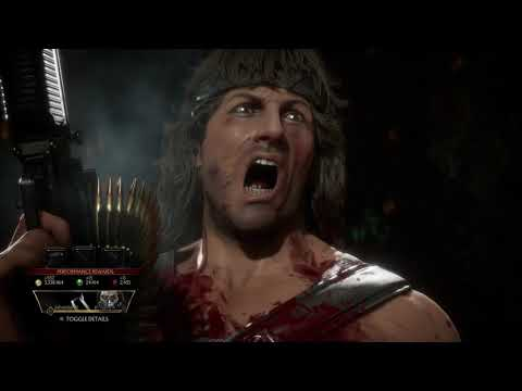 (New) Mortal kombat 11: ultimate - john rambos story tower mode!!