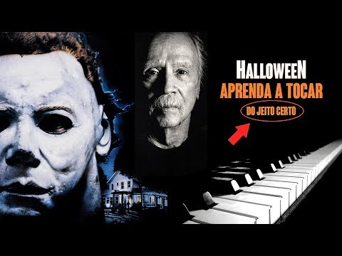 (Ver Filmes) Tutorial de piano - tema do filme halloween - john carpenter
