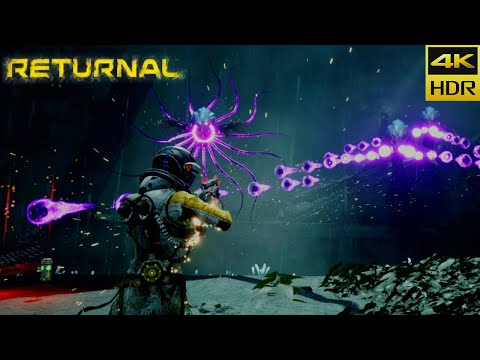 (New) Returnal (ps5) gameplay - 4k hdr 60fps