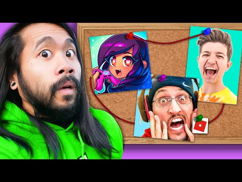 (New) Which youtuber is my enemy? spy ninjas react to fgteev, aphmau, preston, lankybox, and ssundee