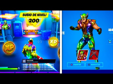 (New) Desbloqueie o nivel 200 hoje! ( xp secreto no fortnite) temporada 4