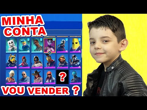 (New) Minha conta no fortnite - piero start games