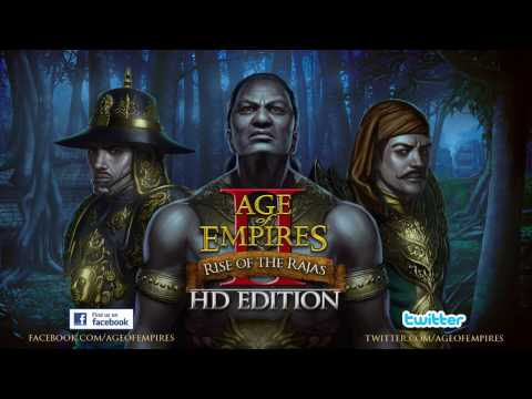 (New) Age of empires ii hd: rise of the rajas official trailer