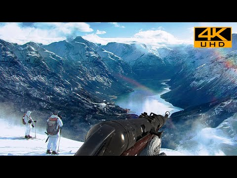 (New) Snowblind | realistic ultra graphics gameplay [4k uhd 60fps] battlefield