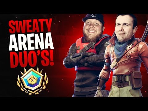 (Ver Filmes) Sweaty arena duos w  drlupo!! - fortnite battle royale