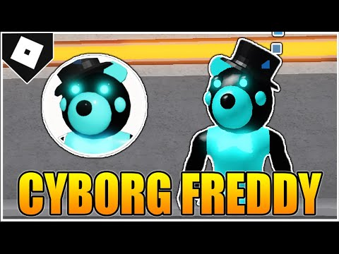 (New) Como conseguir o cyborg freddy no piggy rp !!!