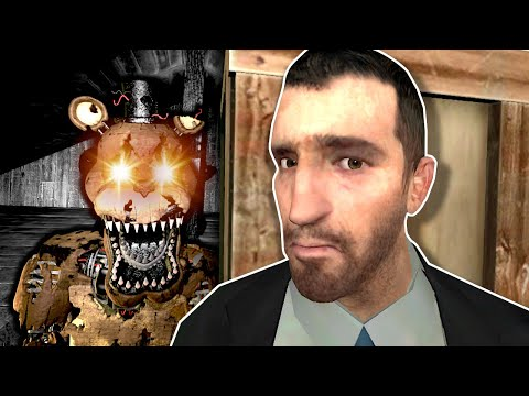 (New) Hiding from fnaf animatronics! – garrys mod gameplay