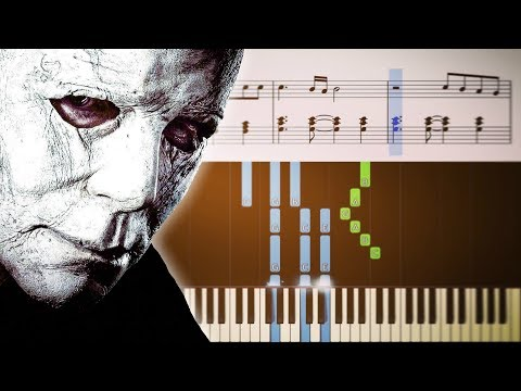 (Ver Filmes) Michael myers theme (from the film halloween) - piano tutorial