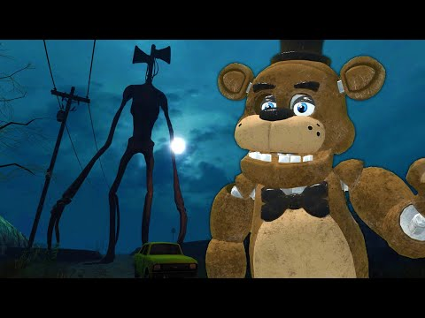 (New) Siren head tracked us down to the forest! - garrys mod roleplay(gmod survival)