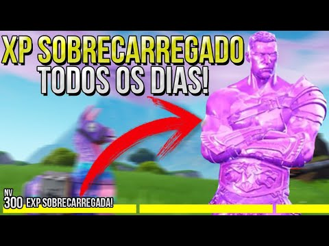(New) Como ter xp sobrecarregado sempre no fortnite temporada 5 - xp sobrecarregado fortnite - fortnite
