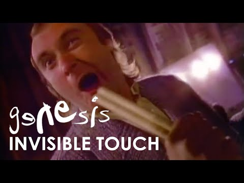 (New) Genesis - invisible touch (official music video)
